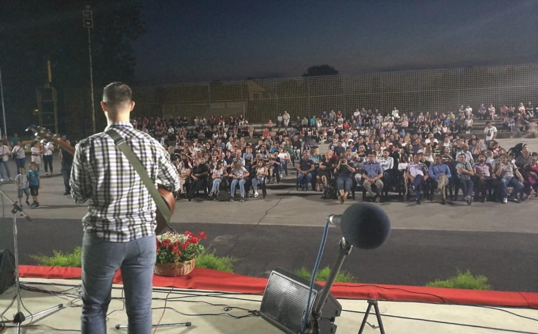 Slavljenički tim Doma molitve SB nastupao na koncertu u Tolisi